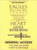 Eagles; Heart; Little River Band